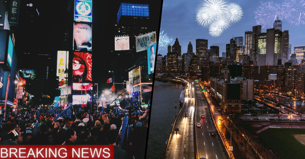 New York Will Ban New Year's Eve Crowds in Times Square for the First Time in 114 Years