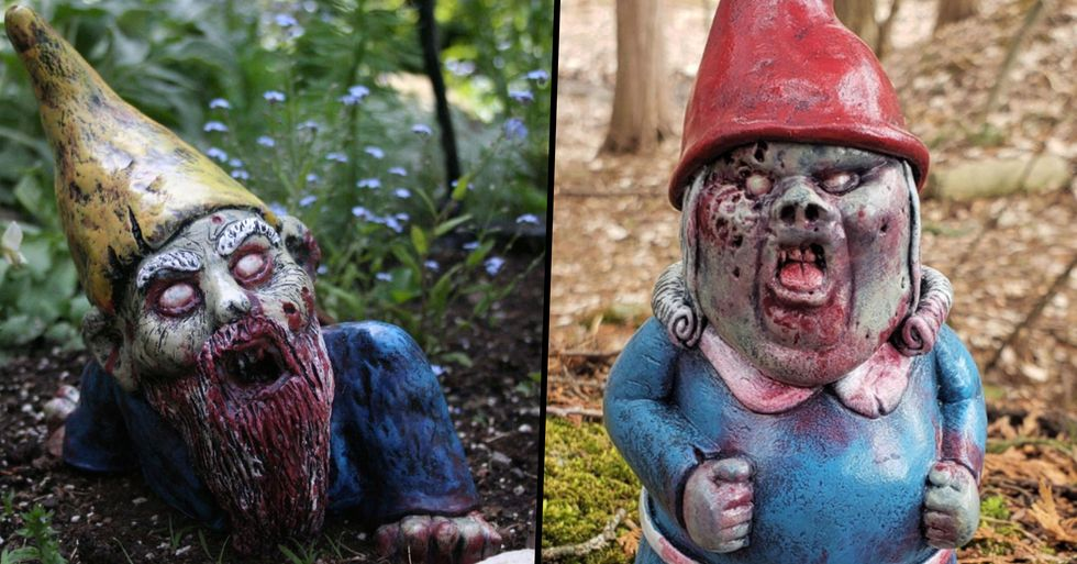 Zombie Garden Gnomes Are Here To Keep People Away From Your Home