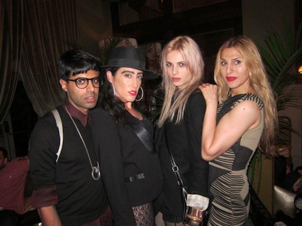 Tuesday at SoHo Grand with Ladyfag & Becka Diamond