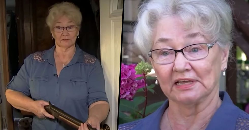 78-Year-Old Grandmother Holds up Man With a Shotgun After He Tried To Steal From Her House