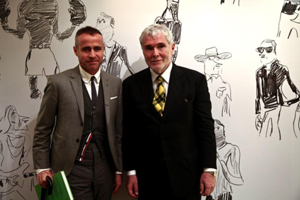 "Glenn O'Brien's ""How to Be a Man"" Book Signing at Bergdorf Goodman's"