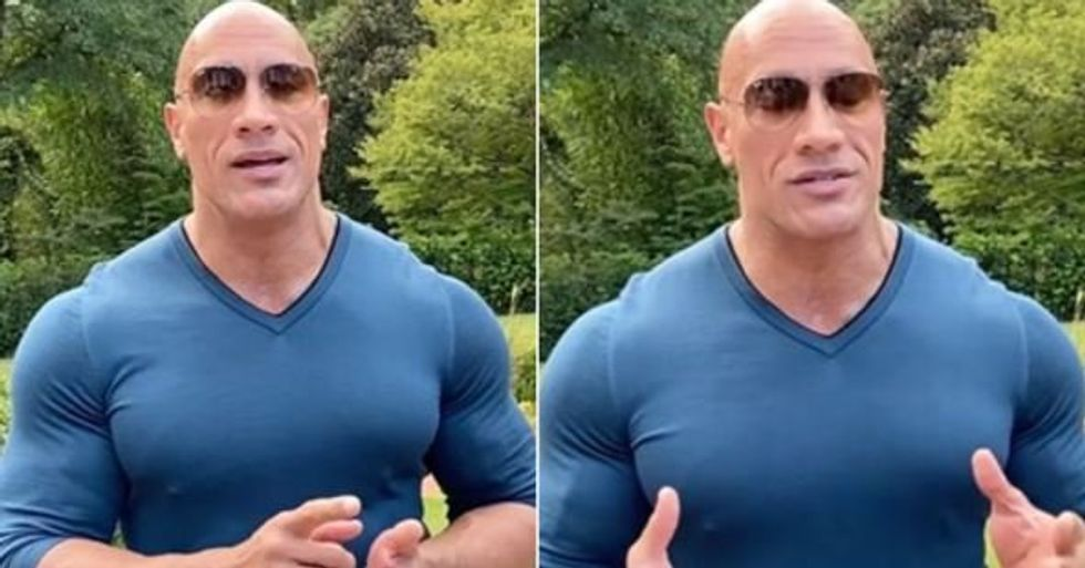 The Rock Endorses Joe Biden to Become Next President of the United States