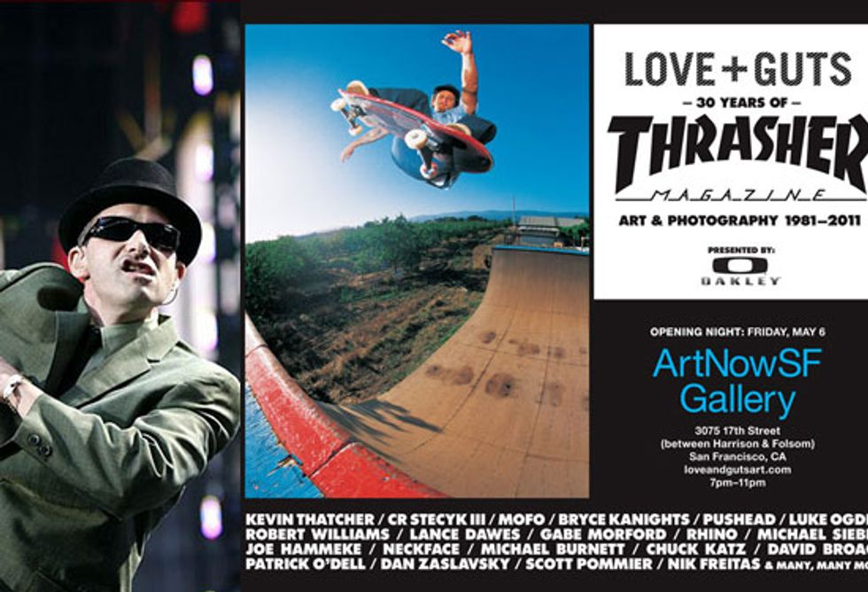 """Eight Items or Less: Ad-Rock at MoMA Nights + Thrasher's """"Love and Guts"""""""