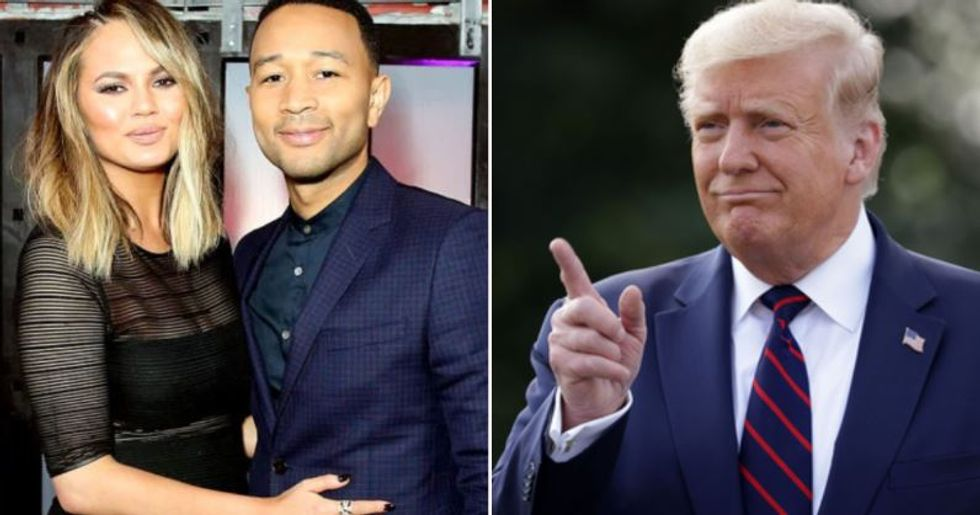 John Legend and Chrissy Teigen Considered Leaving US Because of Donald Trump