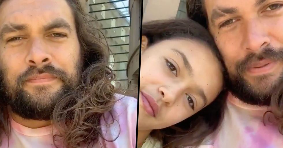 Jason Momoa Tells Fans He Won't Take Pictures With Them if He's With His Kids