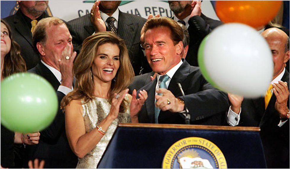 Sad News Alert: Maria Shriver and Arnold Schwarzenegger Separate