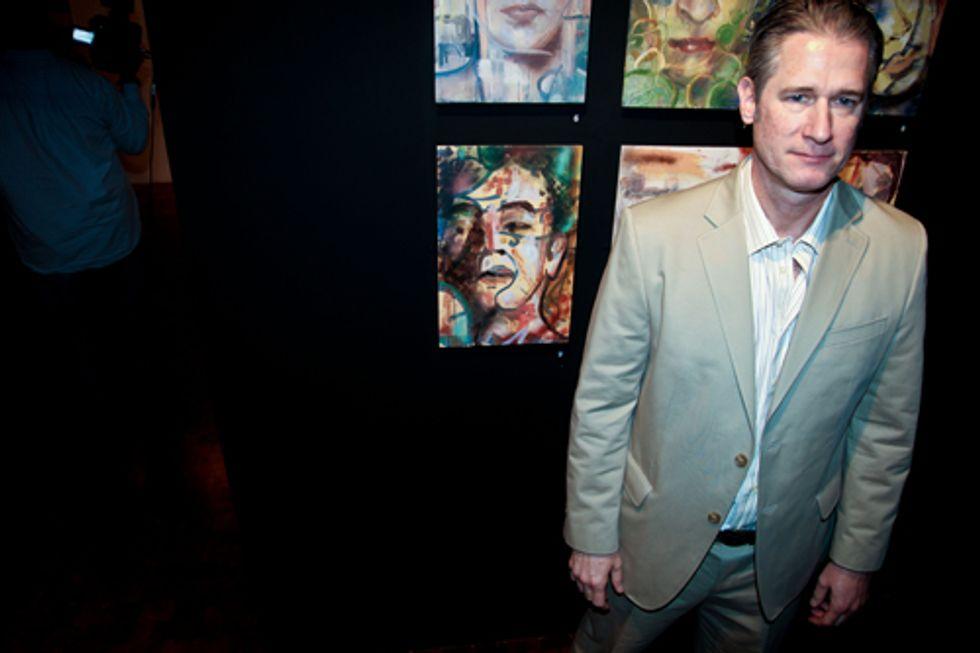 Billy Norwich and Gillian Hearst Honor Artist Garrett Chingery