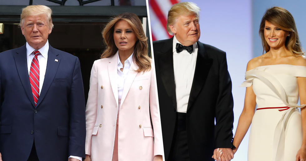 Melania Trump Shares Update on Her and Donald Trump After Testing Positive for Coronavirus