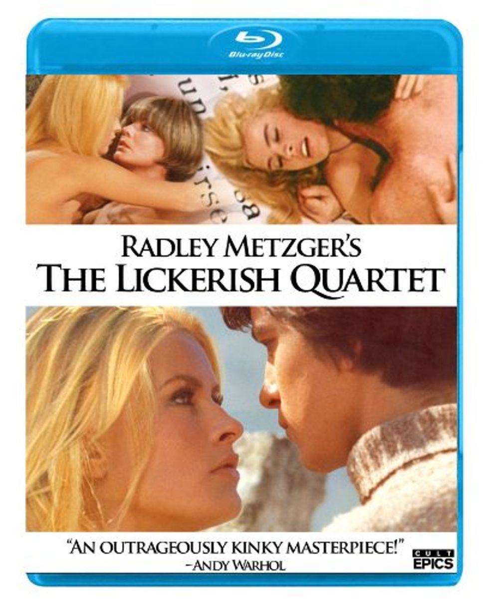 Existential, Erotic The Lickerish Quartet On Blu-ray