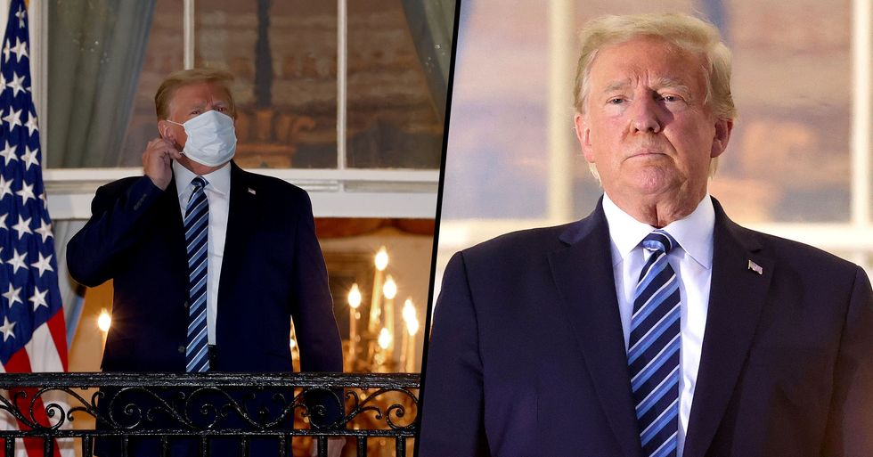 Donald Trump Says Live with COVID Like You Live with Flu