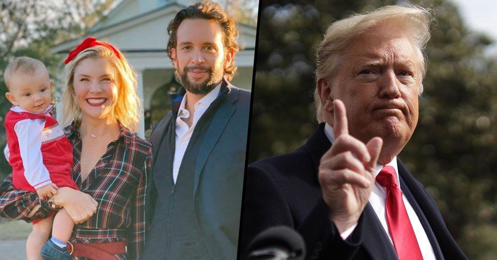 Nick Cordero's Widow Responds To Donald Trump's 'Disgraceful' COVID Tweet