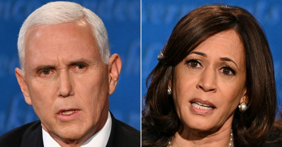 Kamala Harris Tells Mike Pence 'Mr. Vice President, I'm Speaking'