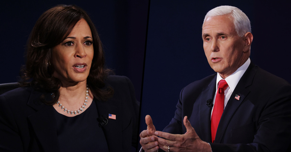 There Was a Massive Difference Between How Mike Pence and Kamala Harris Addressed Healthcare During Debate