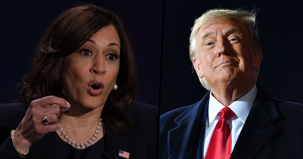 Kamala Harris Said She Wouldn't Take a COVID Vaccine Only Recommended by Trump