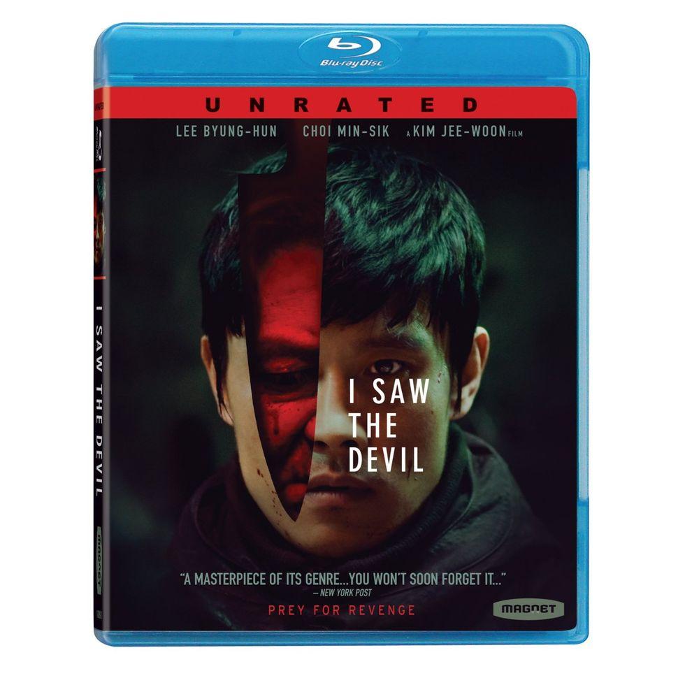 Brutal Korean Revenge Film I Saw The Devil On Blu-ray and DVD