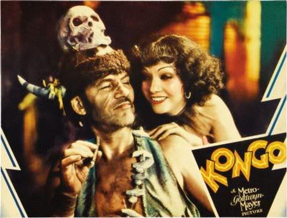 Feverishly Lurid Kongo On Warner Archive DVD