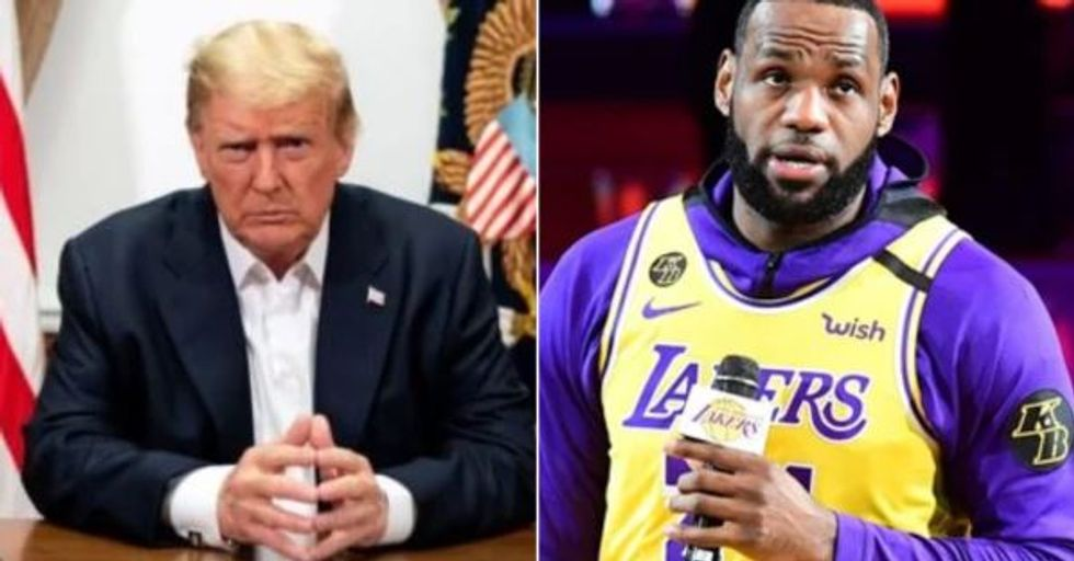 Donald Trump Rips Into 'Nasty' LeBron James