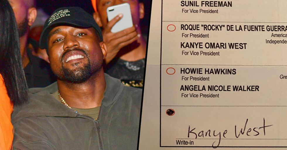 People Are Officially Voting For Kanye West to be President