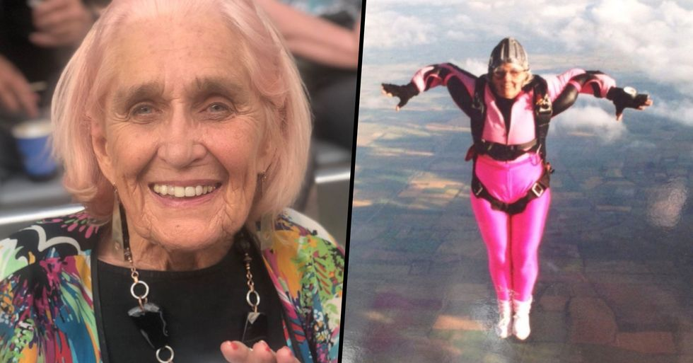 World's Oldest Female Skydiver Dies Aged 88 After Completing 1,100 Solo Parachute Jumps