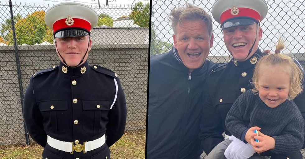 Gordon Ramsay Says He's the 'Proudest Father' as His Son Jack Joins Royal Marines