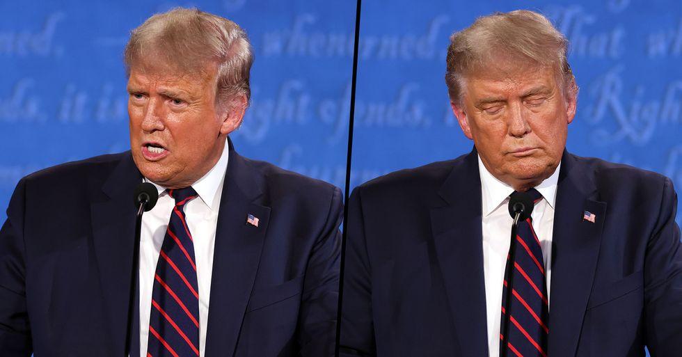 Donald Trump's Economic Advisor Was Caught on Camera Slamming the President's Debate Performance