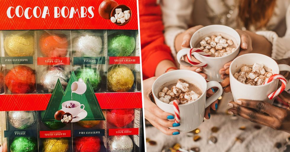 Costco Is Selling Hot Cocoa Bombs That Melt in Your Milk and Have Mini Marshmallows Inside