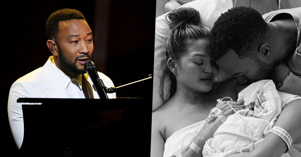 John Legend Dedicates Heartbreaking Billboard Awards Performance to Chrissy Teigen After Losing Third Son