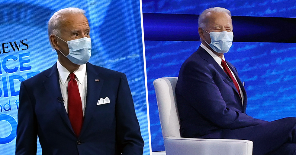 Joe Biden Begins Town Hall Event by Explaining How He'd Have Handled the COVID-19 Pandemic Differently To Trump