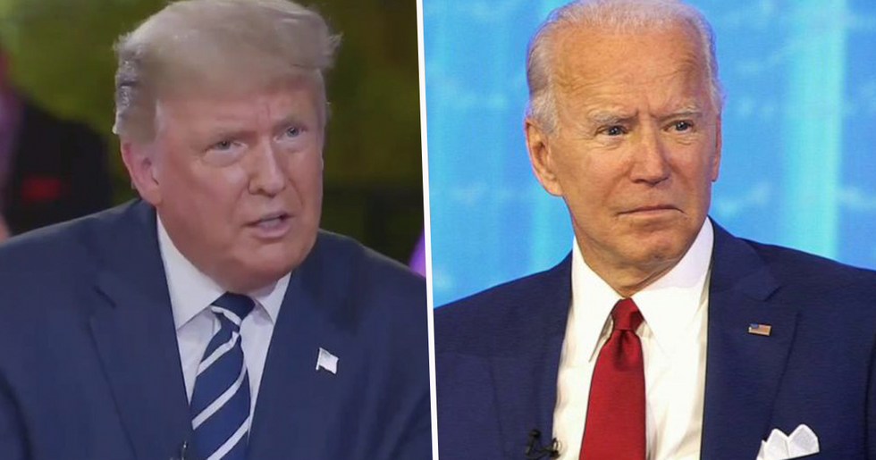 There Was a Huge Difference Between Donald Trump and Joe Biden's Town Hall Events