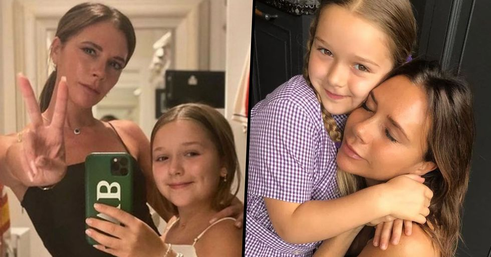David and Victoria Beckham's 9-Year-Old Daughter Harper Gets $460 Haircut
