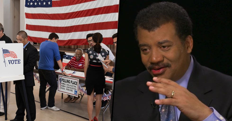 Neil deGrasse Tyson Warns Asteroid Could Hit Earth the Day Before Election