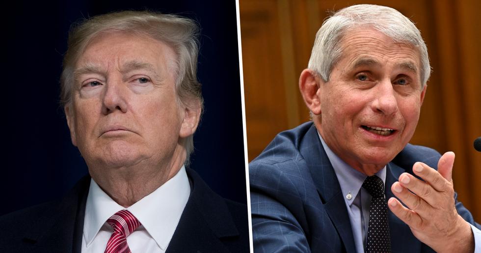 Donald Trump Calls Dr. Fauci 'an Idiot' After His '60 Minutes' Interview