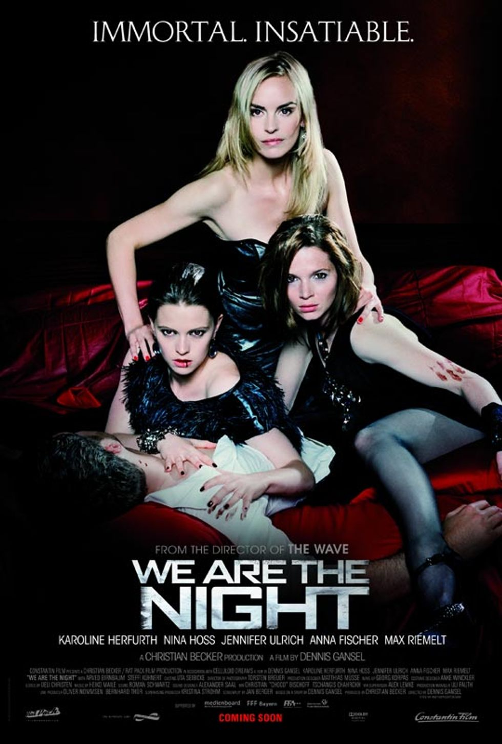 Sexy, Stylish Girl Vampire Film We Are The Night Opens Friday