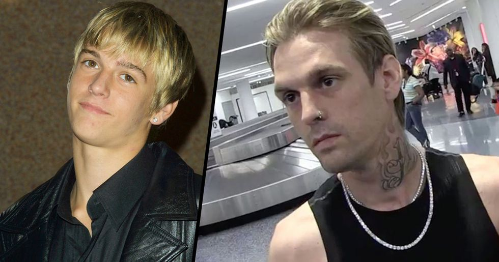 Aaron Carter Says He's Mentally Stable But Needs Assault Rifle