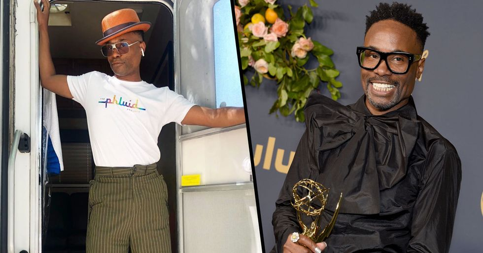 Billy Porter Becomes First Openly Gay Black Man to Win Emmy for Lead Actor in a Drama