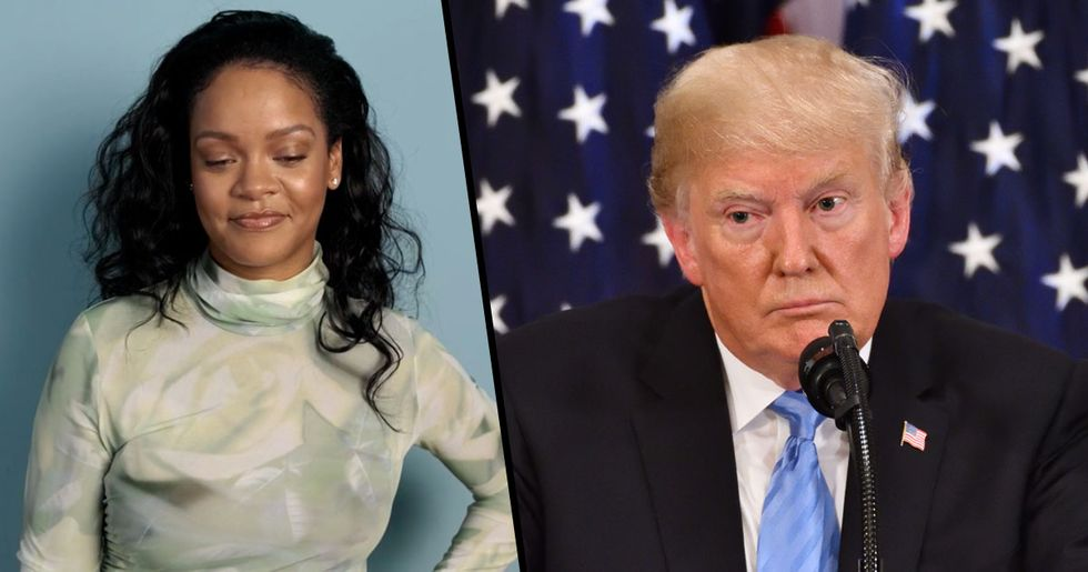 Rihanna Says Trump Is 'the Most Mentally Ill Human Being in America'