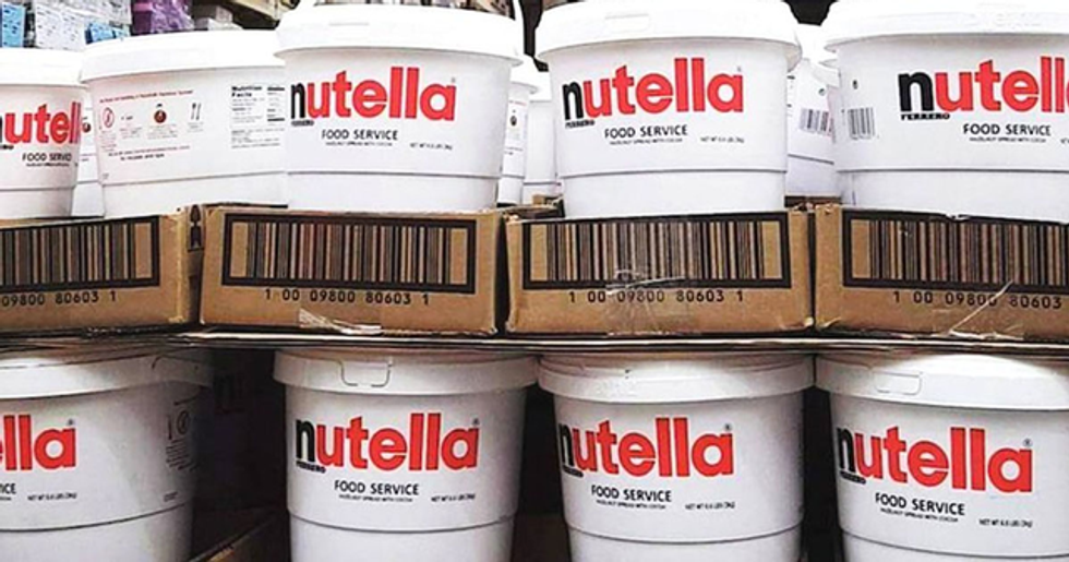 Costco Is Selling A 7-Pound Tub Of Nutella For $22