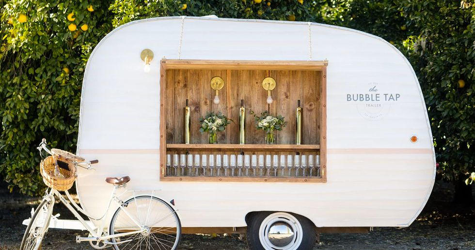You Can Now Get a Trailer Full of Prosecco for Your Wedding Day