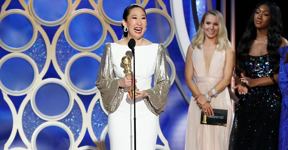 Sandra Oh Adorably Thanked Her Parents in Korean After Winning Golden Globe