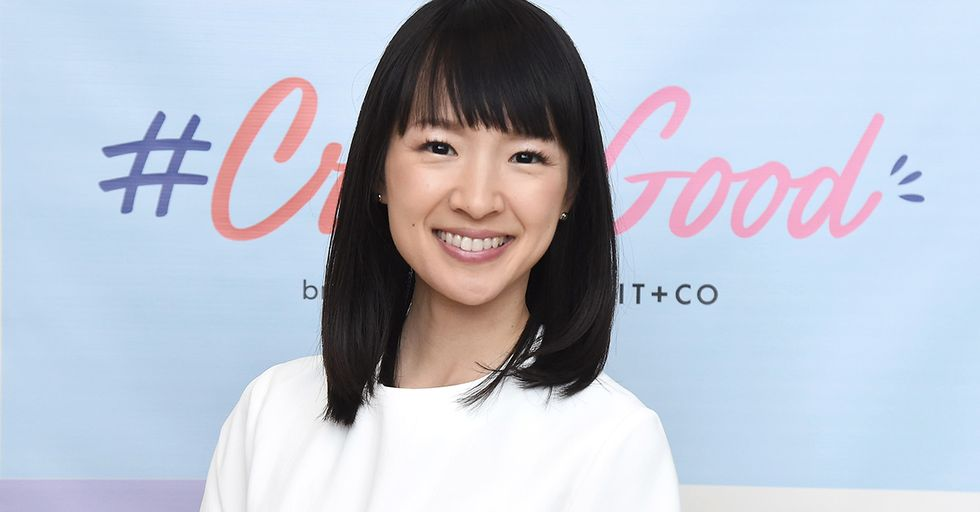 The Internet is Obsessed with Marie Kondo's New Netflix Show About Tidying Up