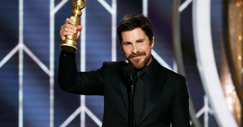 Christian Bale Used His Real Accent at the Golden Globes and It Shocked Fans