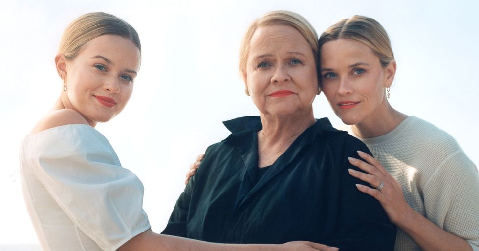 Reese Witherspoon Posed in Vogue With Her Mom and Daughter and They All Look Exactly Alike