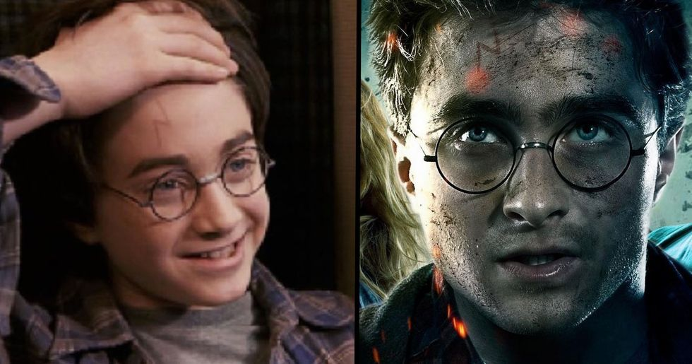 Harry Potter's Scar Isn't Actually A Lightning Bolt