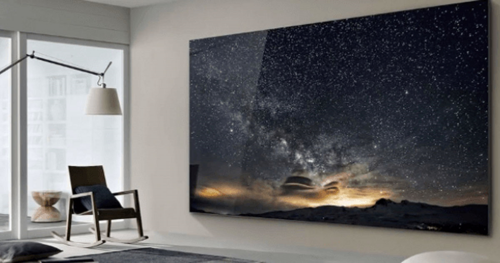 Samsung Release 219-Inch TV Called 'The Wall'