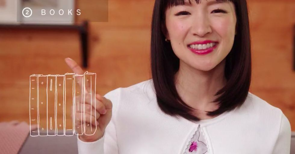 Marie Kondo Advice Sparks Debate Among Book Lovers