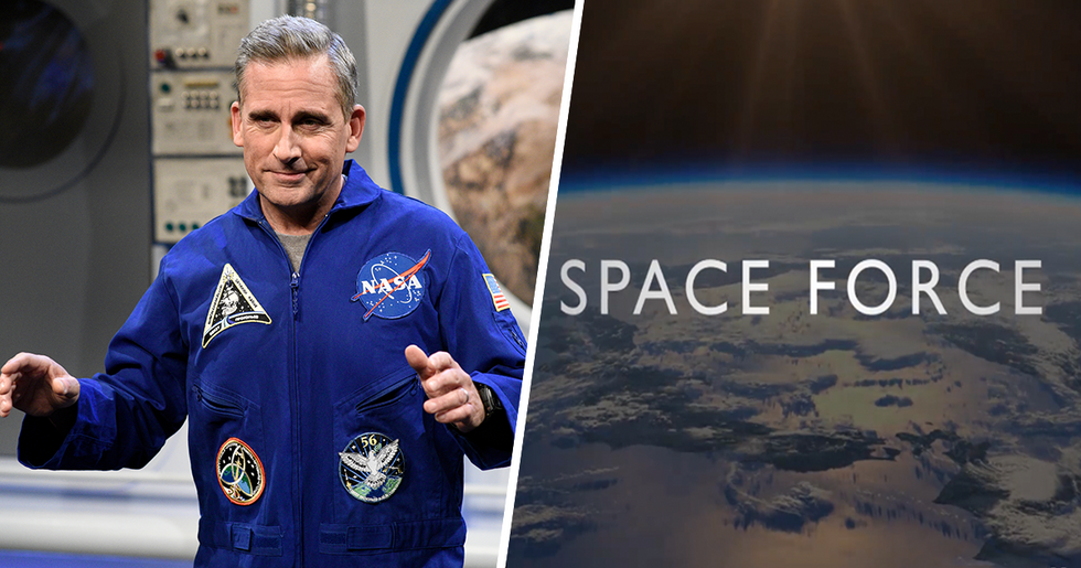 Fans of 'The Office' Will Love Steve Carell's New Netflix Show About Space Force