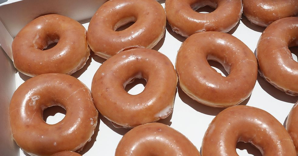 Krispy Kreme Is Giving Out Free Doughnuts For the Next Two Weeks