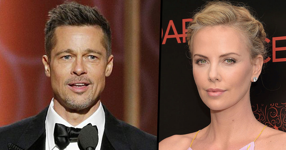Brad Pitt Is 'Dating' Charlize Theron