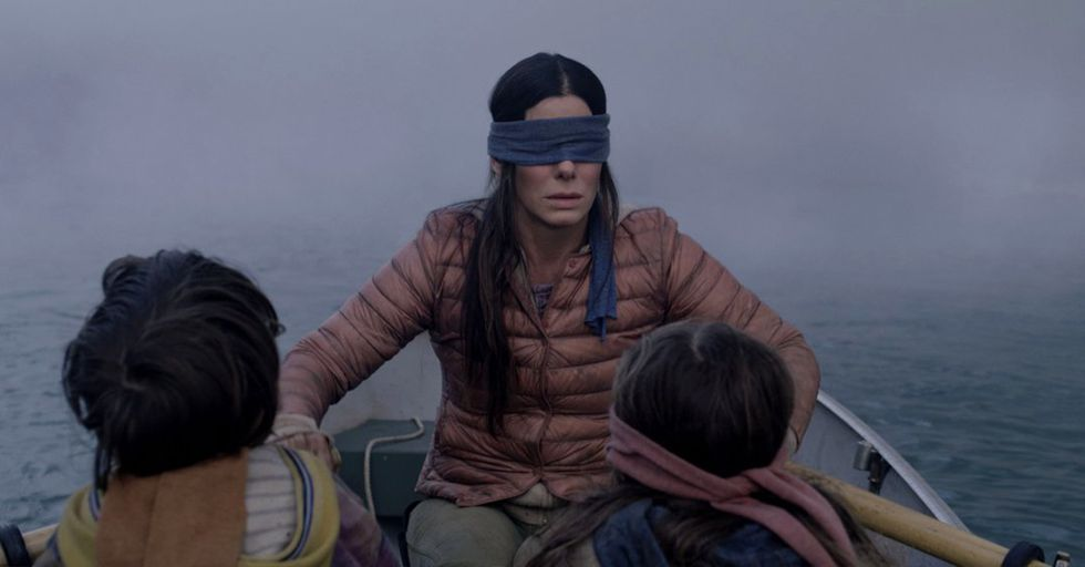 People Are Calling the Use of Real-Life Rail Explosion Footage in 'Bird Box' Insensitive
