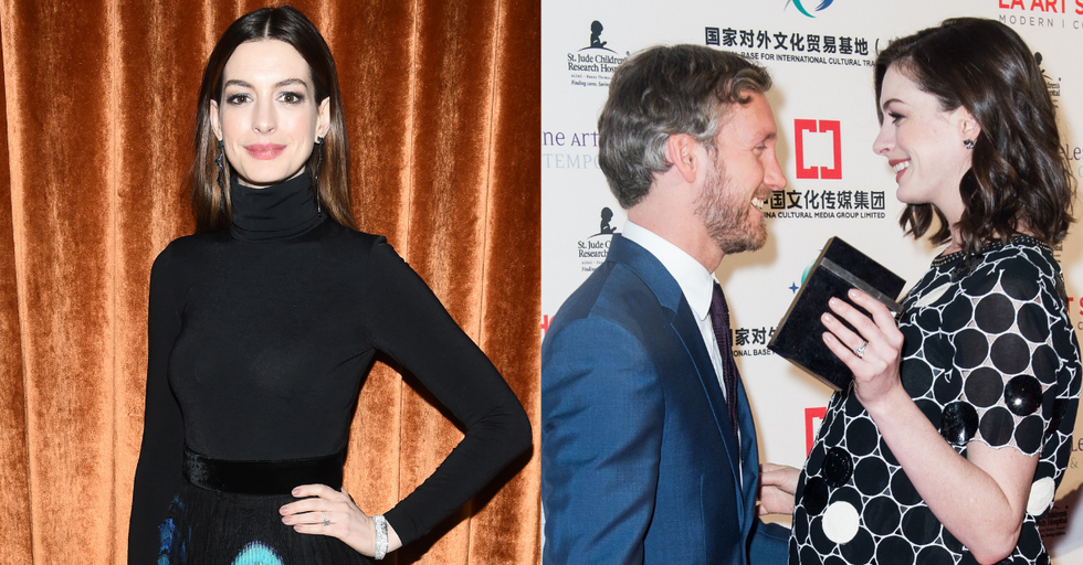 Anne Hathaway Reveals She's Giving up Drinking Until Her Son Turns 18